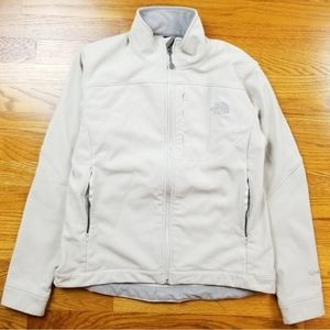 The North Face Apex Bionic White Soft Shell Jacket